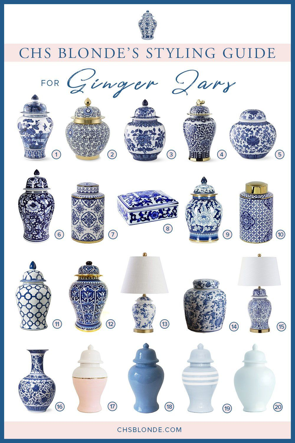 Photo of Styling Guide for Ginger Jars