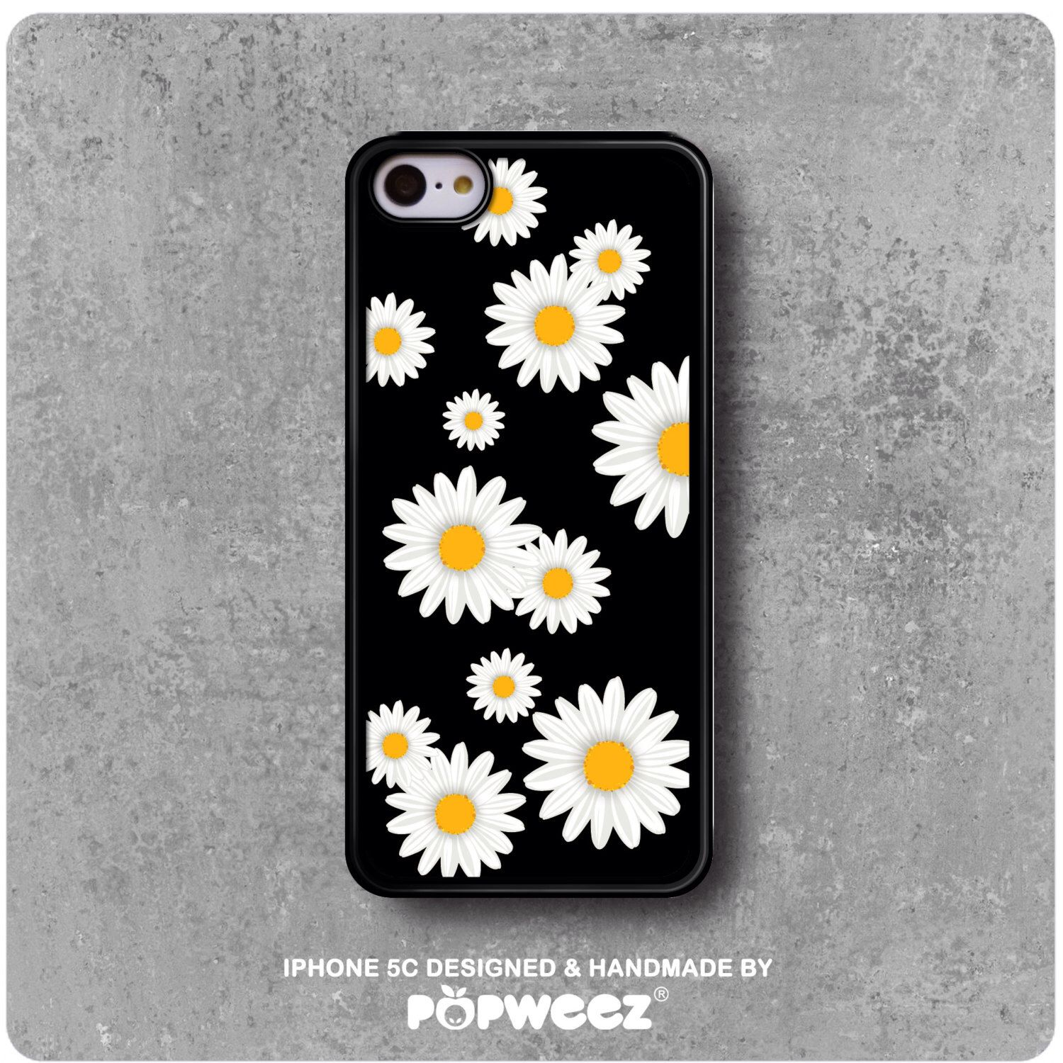 iPhone 5C Case Flowers Daisies + Free Shipping by POPWEEZ on Etsy https://www.etsy.com/listing/191137735/iphone-5c-case-flowers-daisies-free