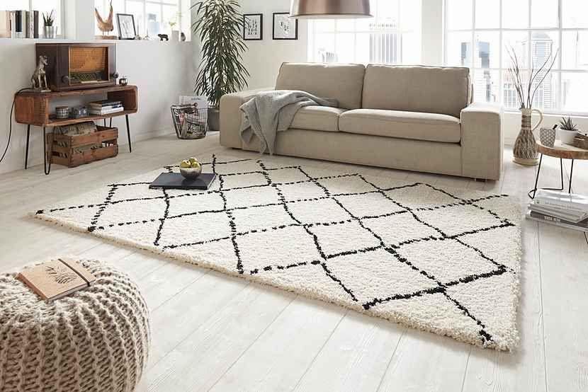 Hochflor Teppich Mint Rugs Hash Hohe 35 Mm Gewebt