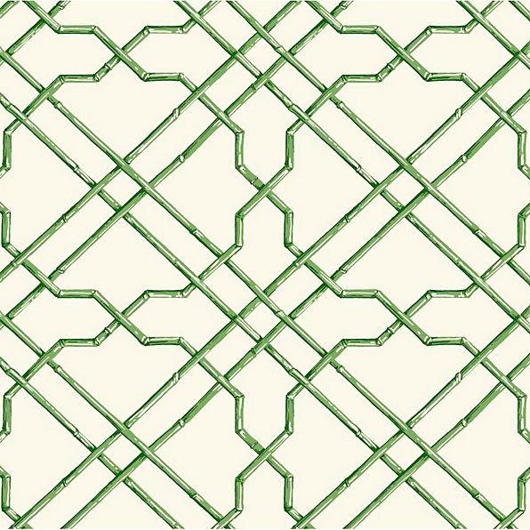 Bamboo Trellis Wallpaper Double Roll Trellis Wallpaper