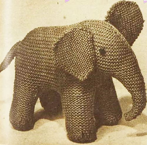 Elegant Elephant Pattern By Australian Women S Weekly