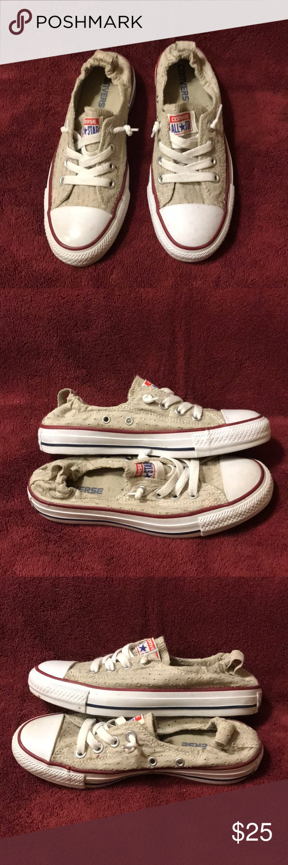 db33ec156c Converse shoreline Converse all store shoreline slip on sneakers Good  condition smoke-free home Converse Shoes Sneakers