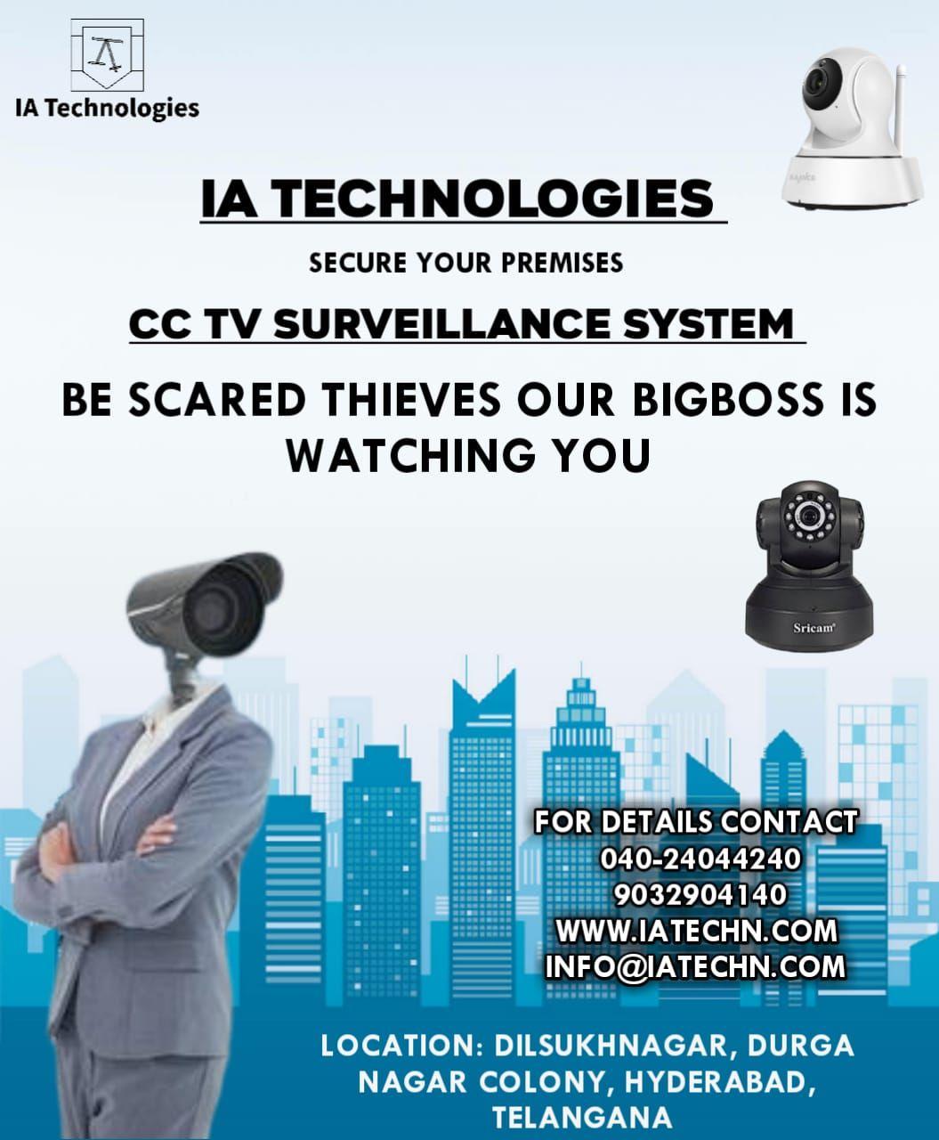 Pin By Ia Technologies On Cctv Surveillance System Info Technology