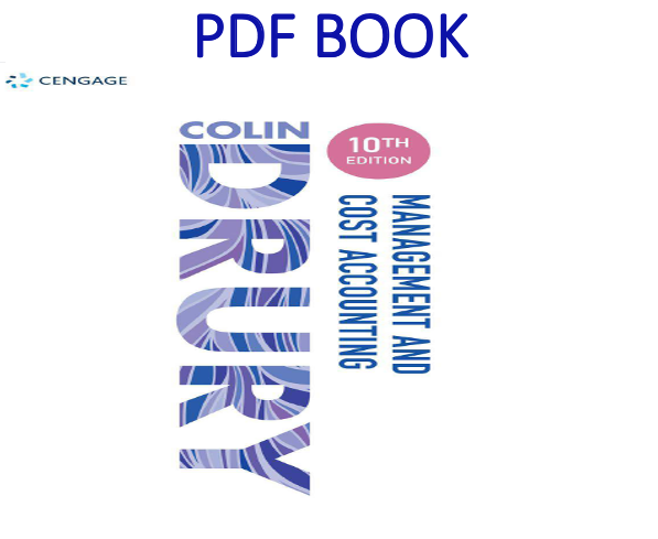 Management And Cost Accounting 10th Edition Pdf Book By Colin Drury Cost Accounting Pdf Books Management Books