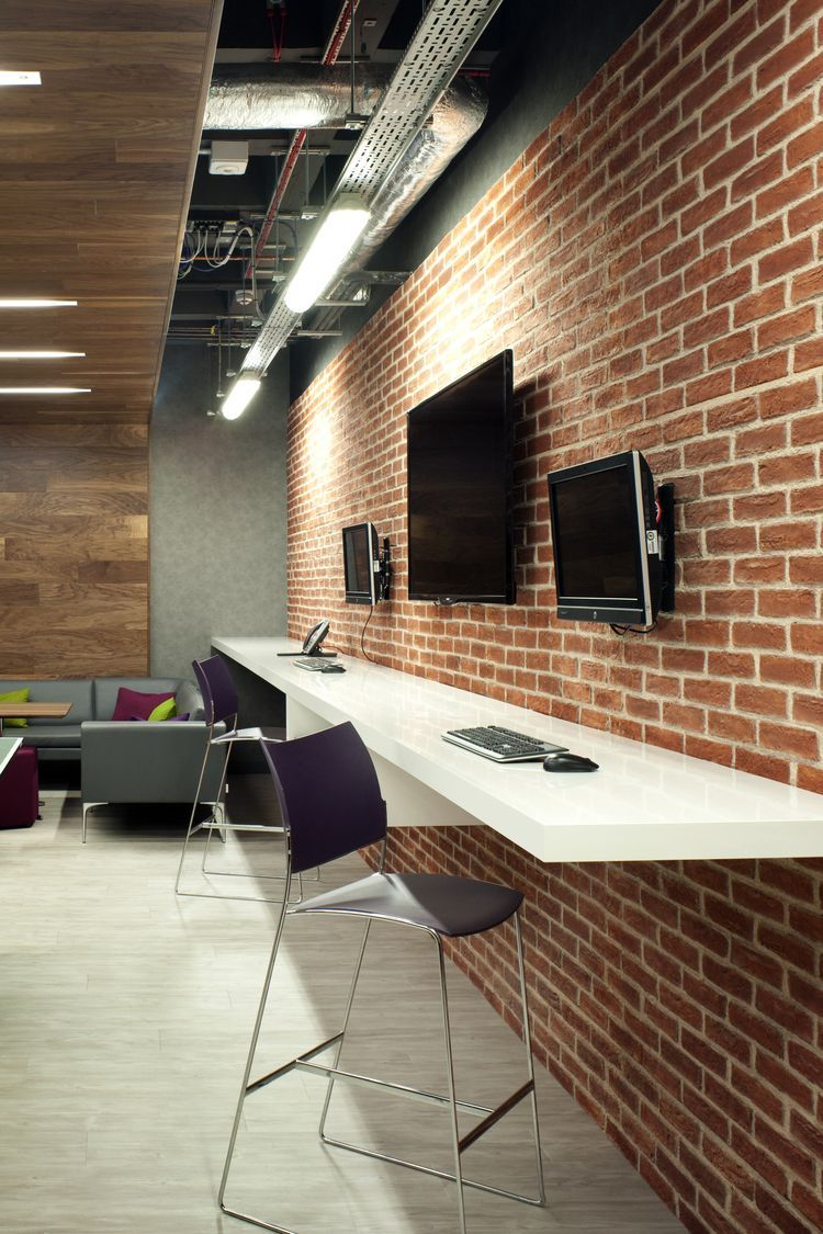 London Office Design Urban Hot Desk For First Rand Bank Flexible Working Was Key We Love T Office Interior Design Office Interiors Office Divider Walls