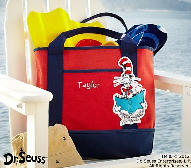 I love the Dr. Seuss™ Tote on potterybarnkids.com