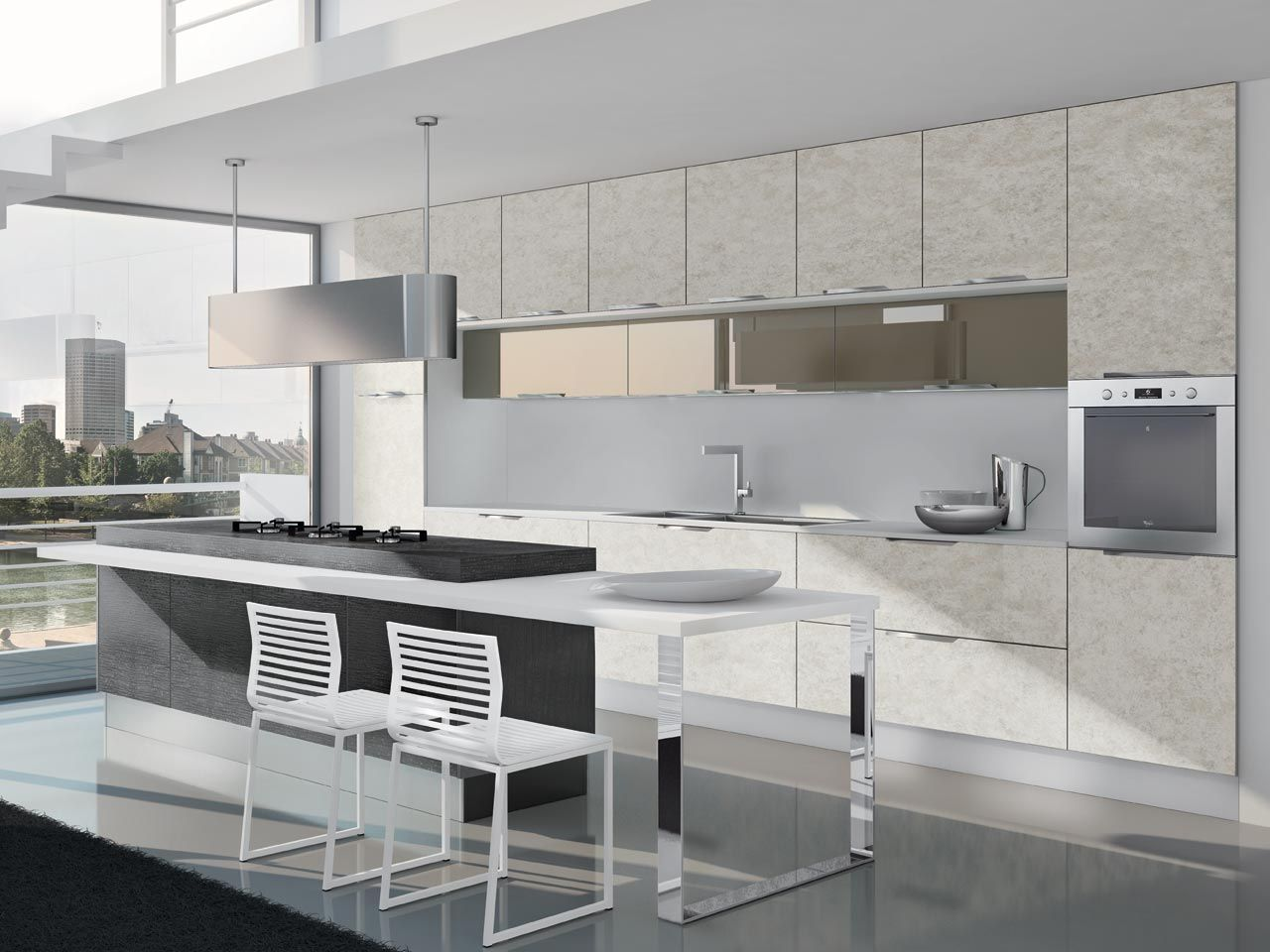 NILDE Gres - Cucina Lube Moderna | Pinterest | Kitchens, Modern and ...