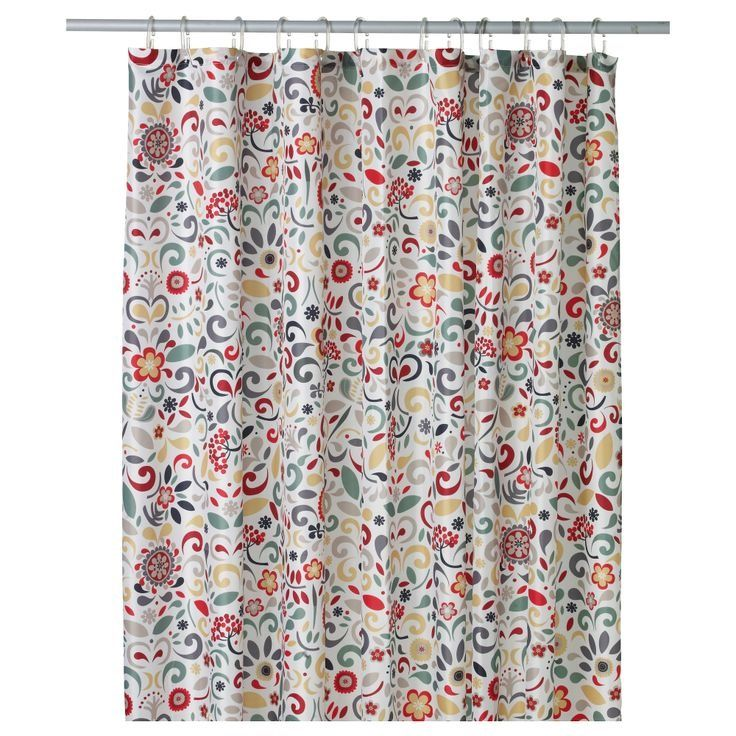 Everything S Coming Up Rosemaling Cool Shower Curtains Bathroom
