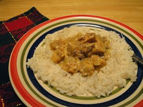 Christine's Pantry: Creamy Chicken and Rice