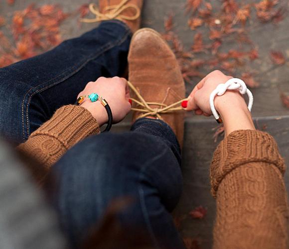Love the bracelets.