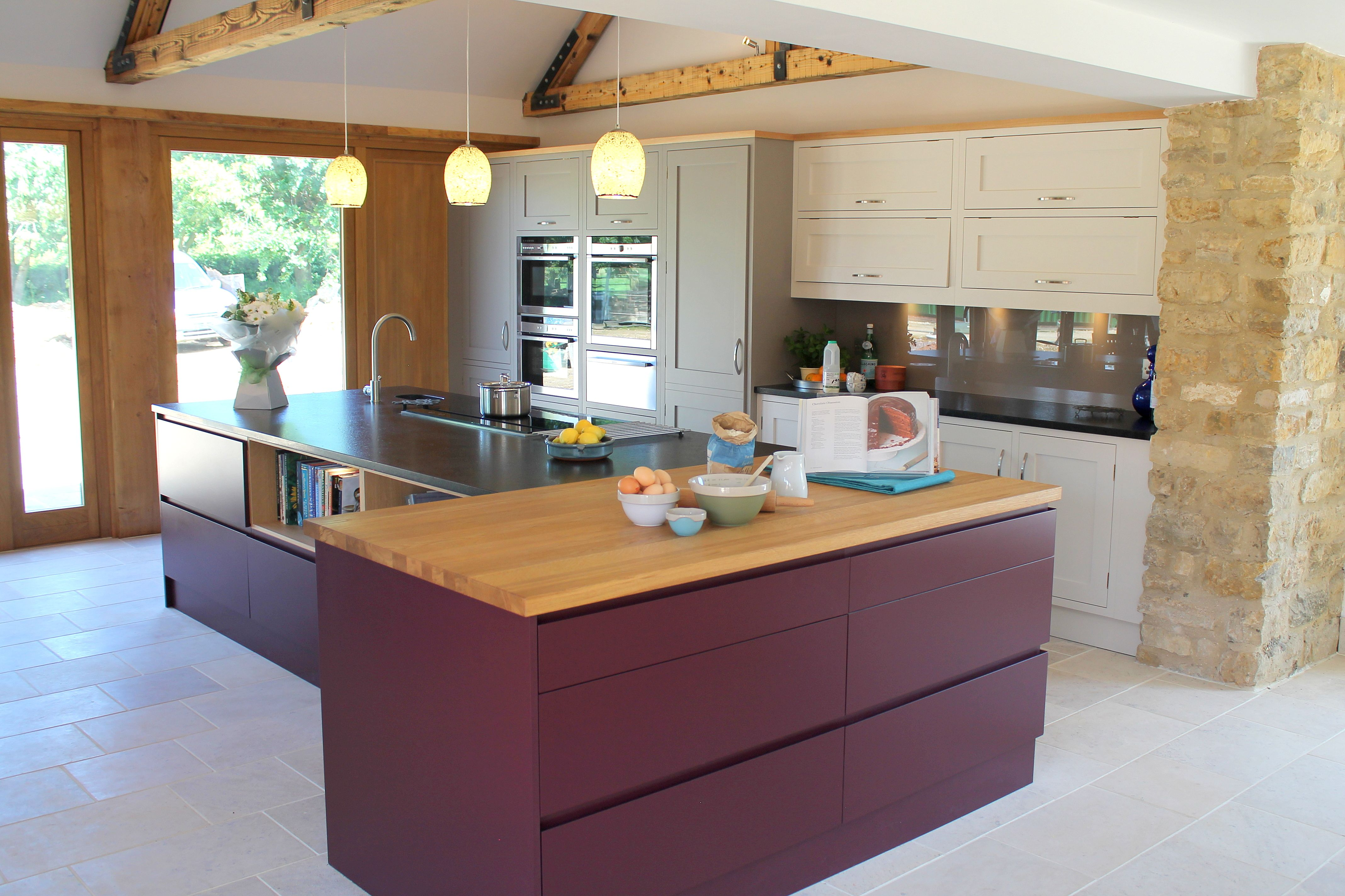 English bespoke handmade kitchens by Krantz Designs. www