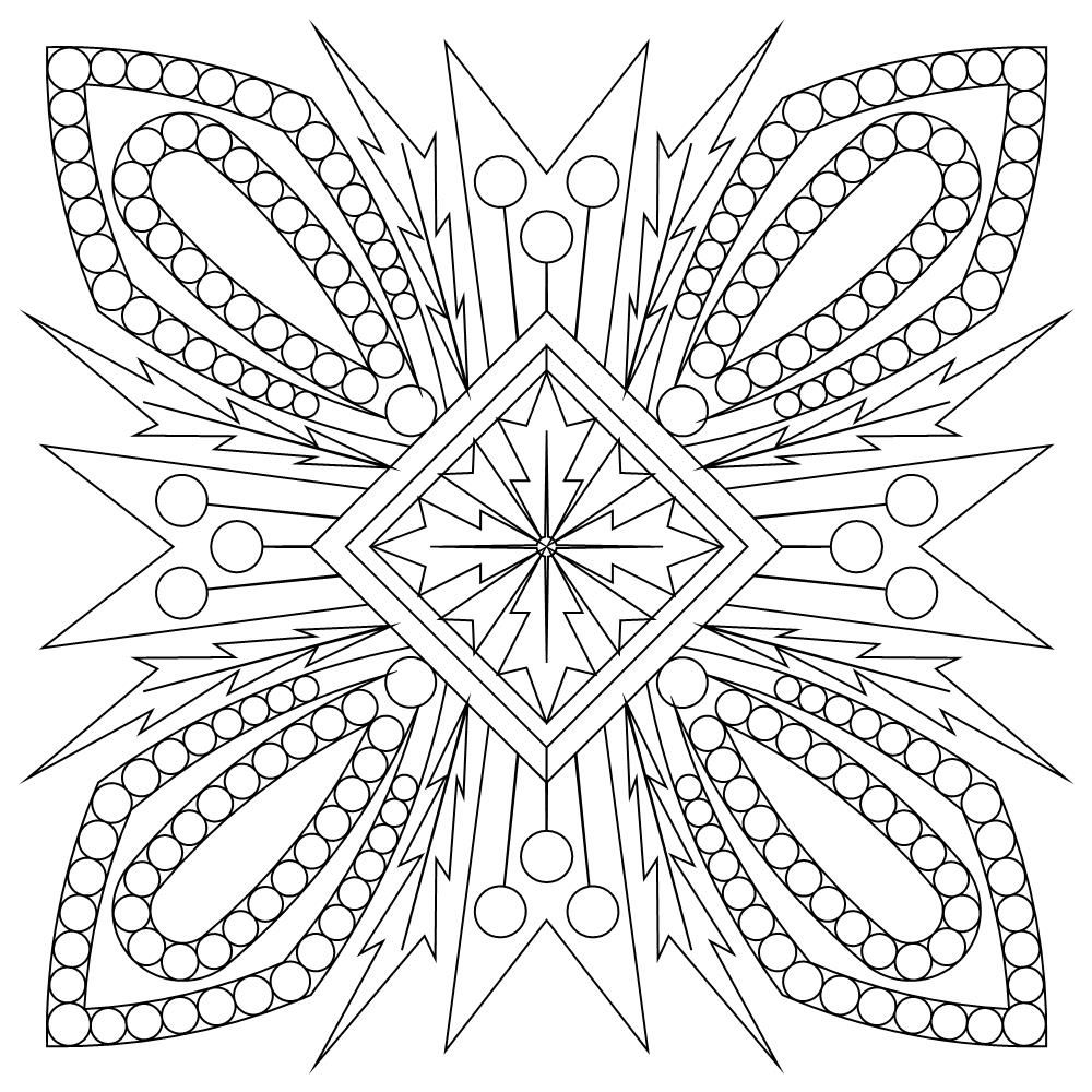 Cactus Block 003 Flower Coloring Pages Coloring Pages Colouring Printables
