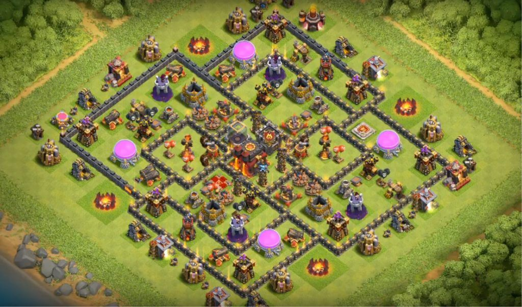 Base Coc Th 10 Farming Terkuat 5
