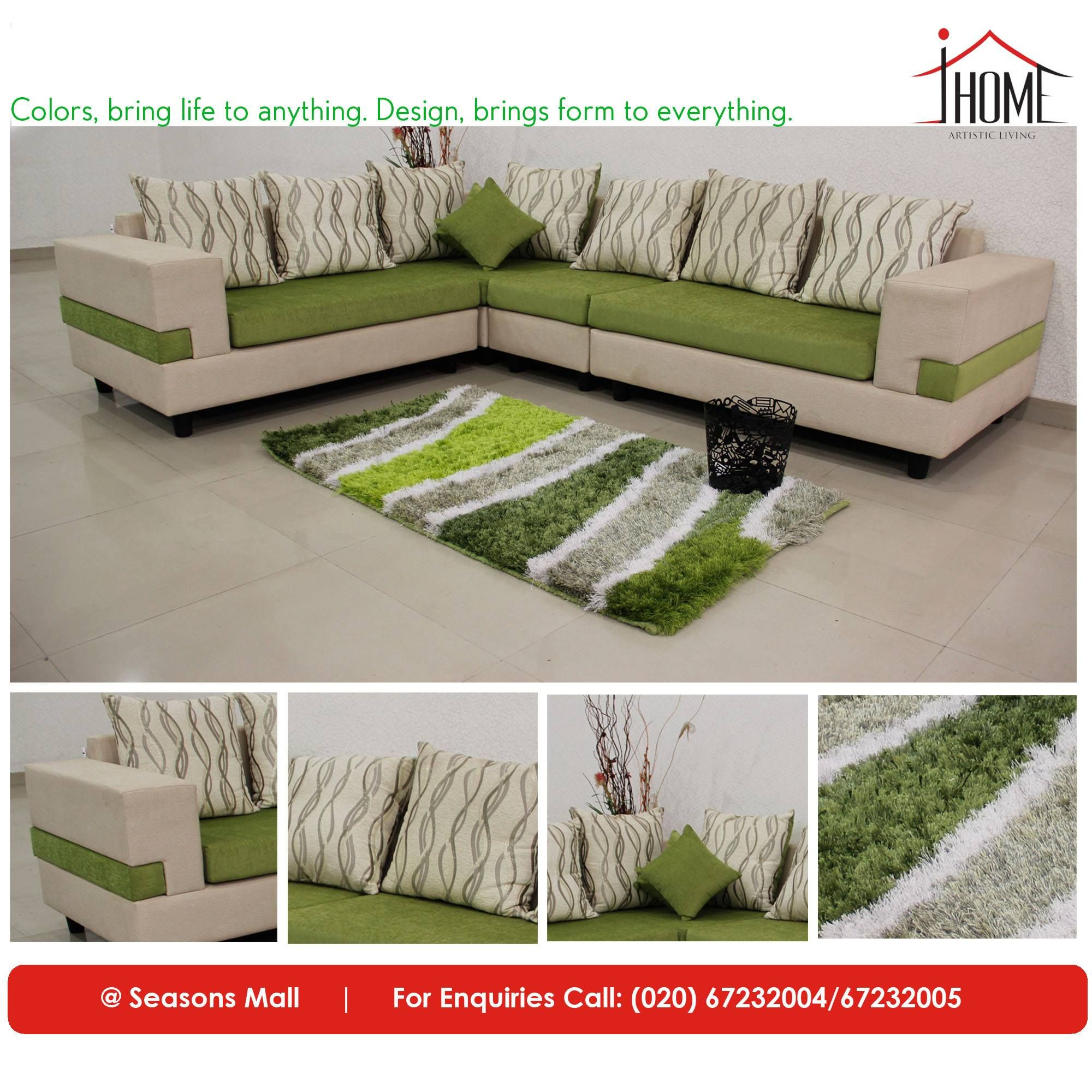Peckham Sectional Sofa India: Sectional Sofa-Set By #iHomeFurniture Find Your Comfort In