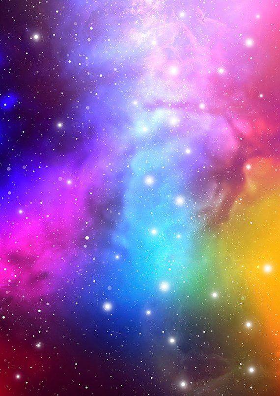 Nebula background. Universe background. Galaxy background scrapbooking paper. Astronomy ...