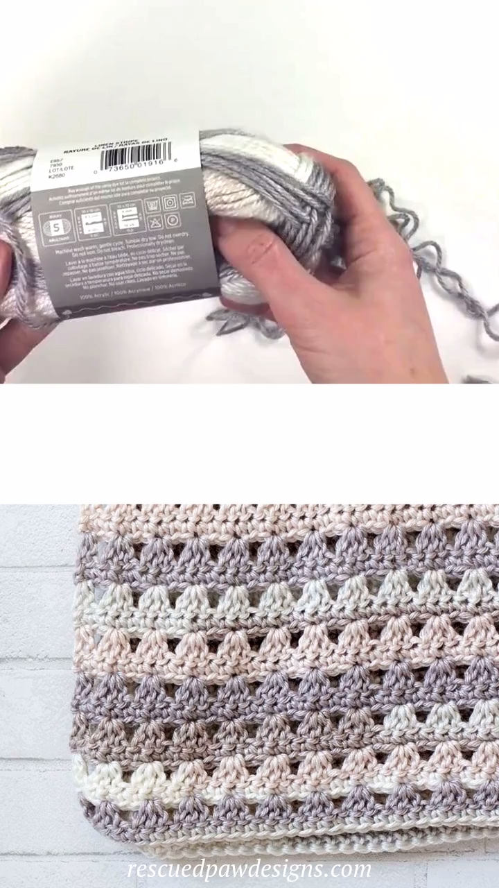Alissa Crochet Throw Pattern