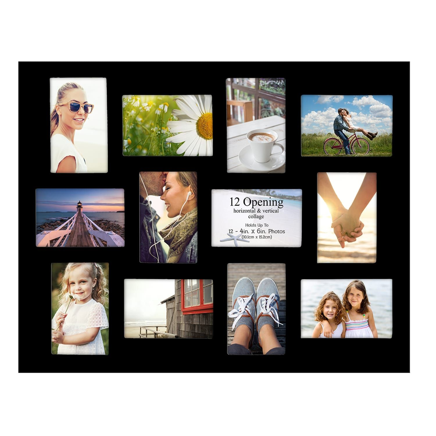 Warner 12 Opening Collage Black Frame Walmart Ca Family Pictures On Wall Living Room Wall Collage Ideas Frame Wall Collage
