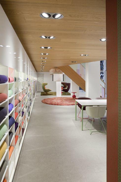 finest selection 5a88c d805a Kvadrat - Milan Showroom by Alfredo Häberli   showroom in ...