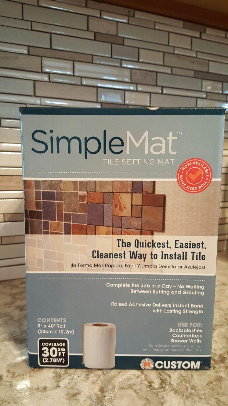 simple mat tile setting mat using this