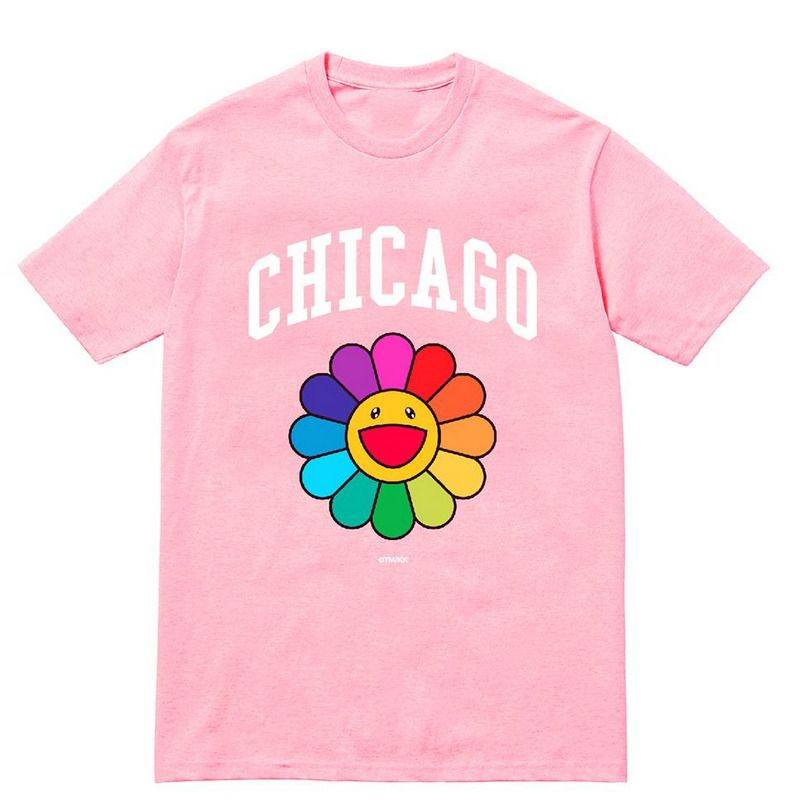 802be21c Takashi Murakami MCA Chicago Flower T Shirt Pink Complexcon Choose Size  #Chicago #GraphicTee