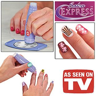 Salon Professional Nail Art Stamp Polish Nail DIY Stamping Design ...