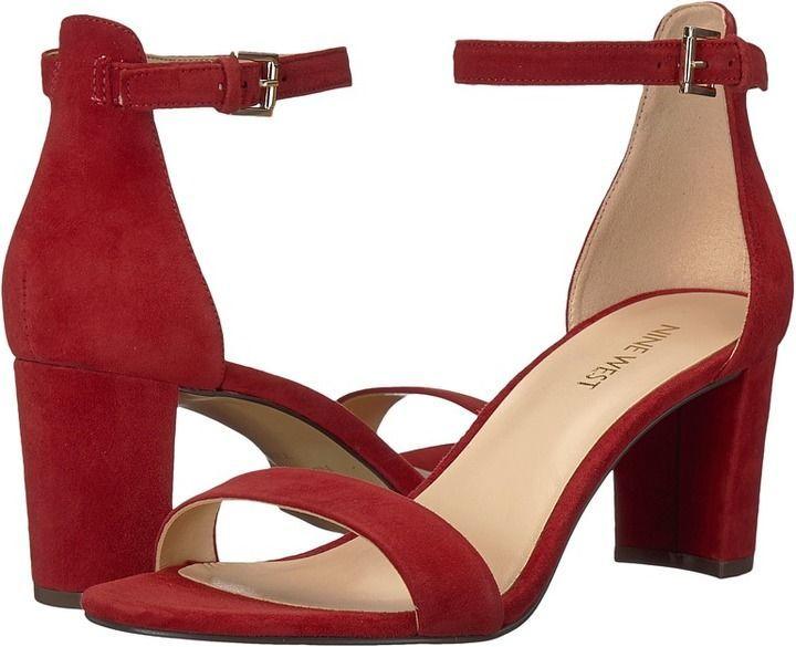 4728ef69019 Nine West Pruce Block Heel Sandal High Heels | Actual clothes ...