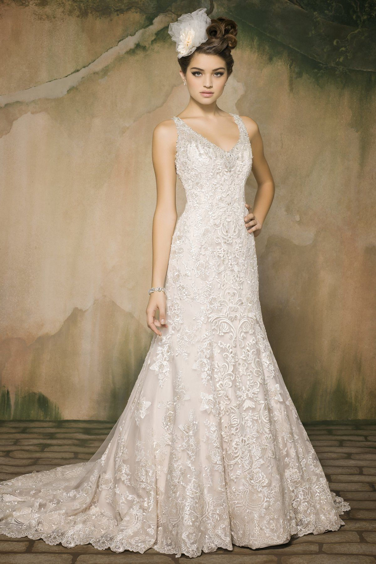 Style *120 MADELEINE » Wedding Dresses » Pearl Couture Collection ...