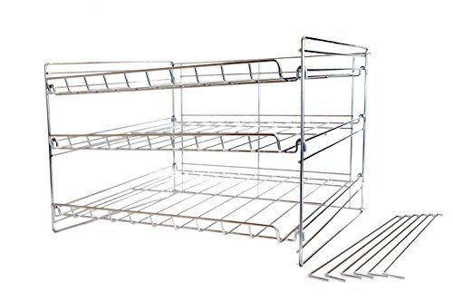 Axis Chromed Steel Kitchen Can Organizer This Is An Amazon Affiliate Link Learn M Kitchen Pantry Storage Cabinet Steel Kitchen Free Standing Kitchen Pantry