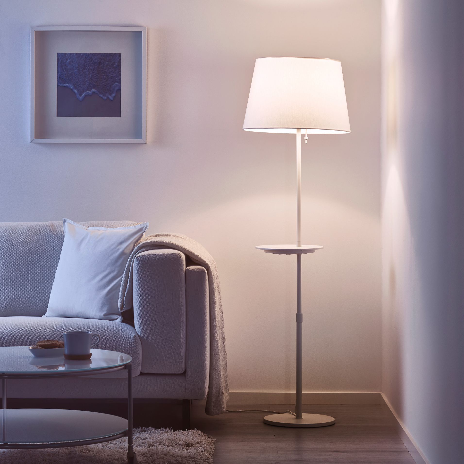 10 Essential Ikea Pieces For Small Living Rooms Floor Lamps Living Room Small Living Rooms Ikea Living Room #small #living #room #lamps
