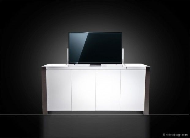 Meuble Tv Elevateur Lift Up Meuble Design Deco Tendency Meuble Tv Meuble Mobilier Moss