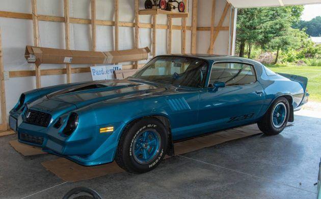 A Beauty In Blue 1979 Chevrolet Camaro Z28 Chevrolet Camaro Camaro Vintage Camaro