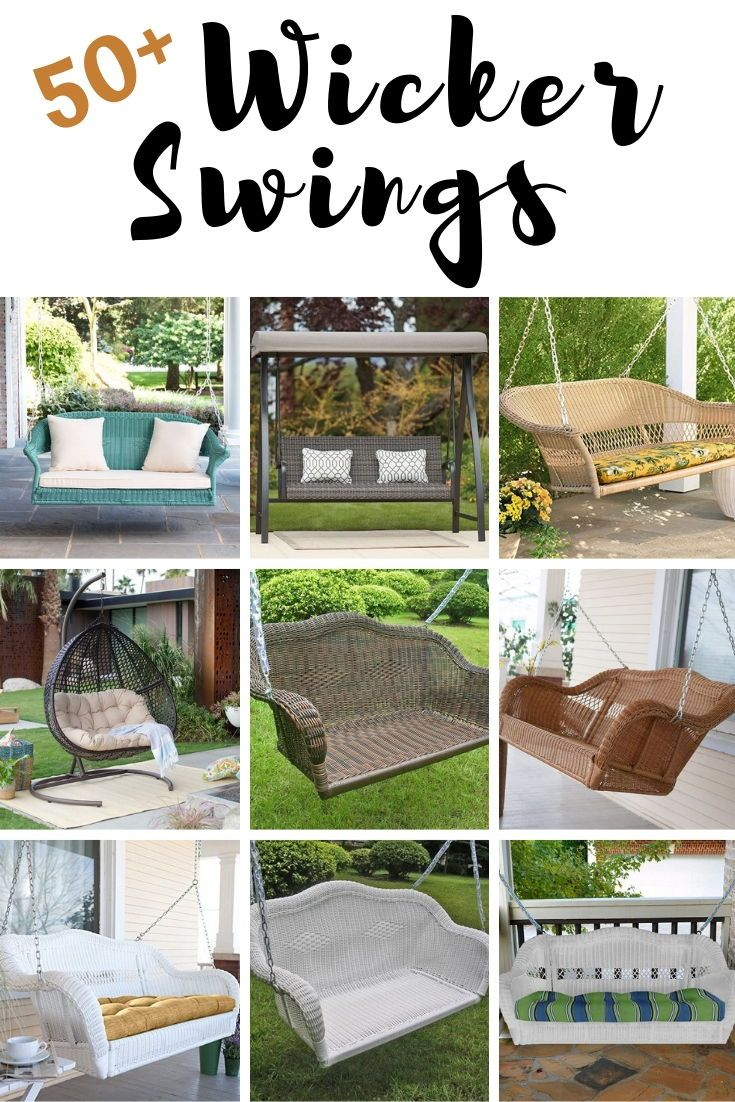 Discover the best wicker swings and top rated outdoor porch swings you can buy for your beach home