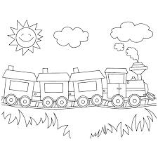 Afbeeldingsresultaat Voor Tekening Trein En Wagon Klas
