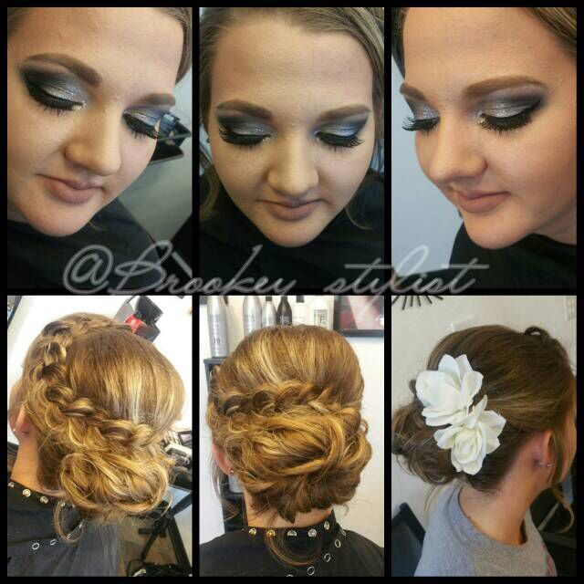 Prom 2k16 hair & makeup style
