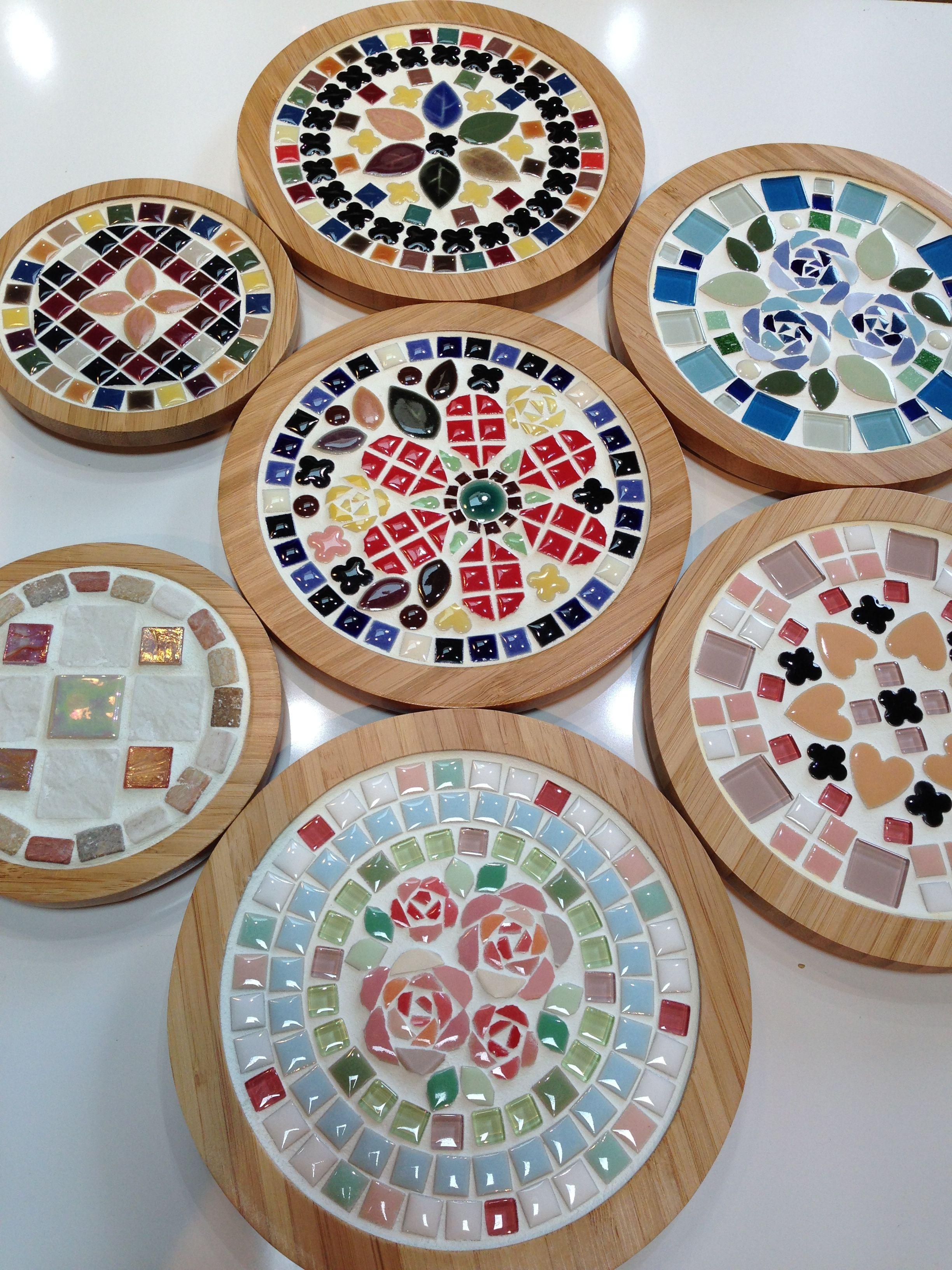 Tilecraft Anna タイルクラフト教材鍋敷き Azulejos De Mosaico Disenos En Mosaico Mosaicos