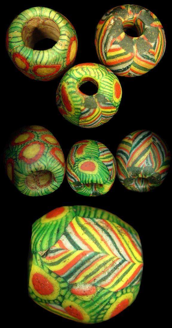 Ancient Morfia beads