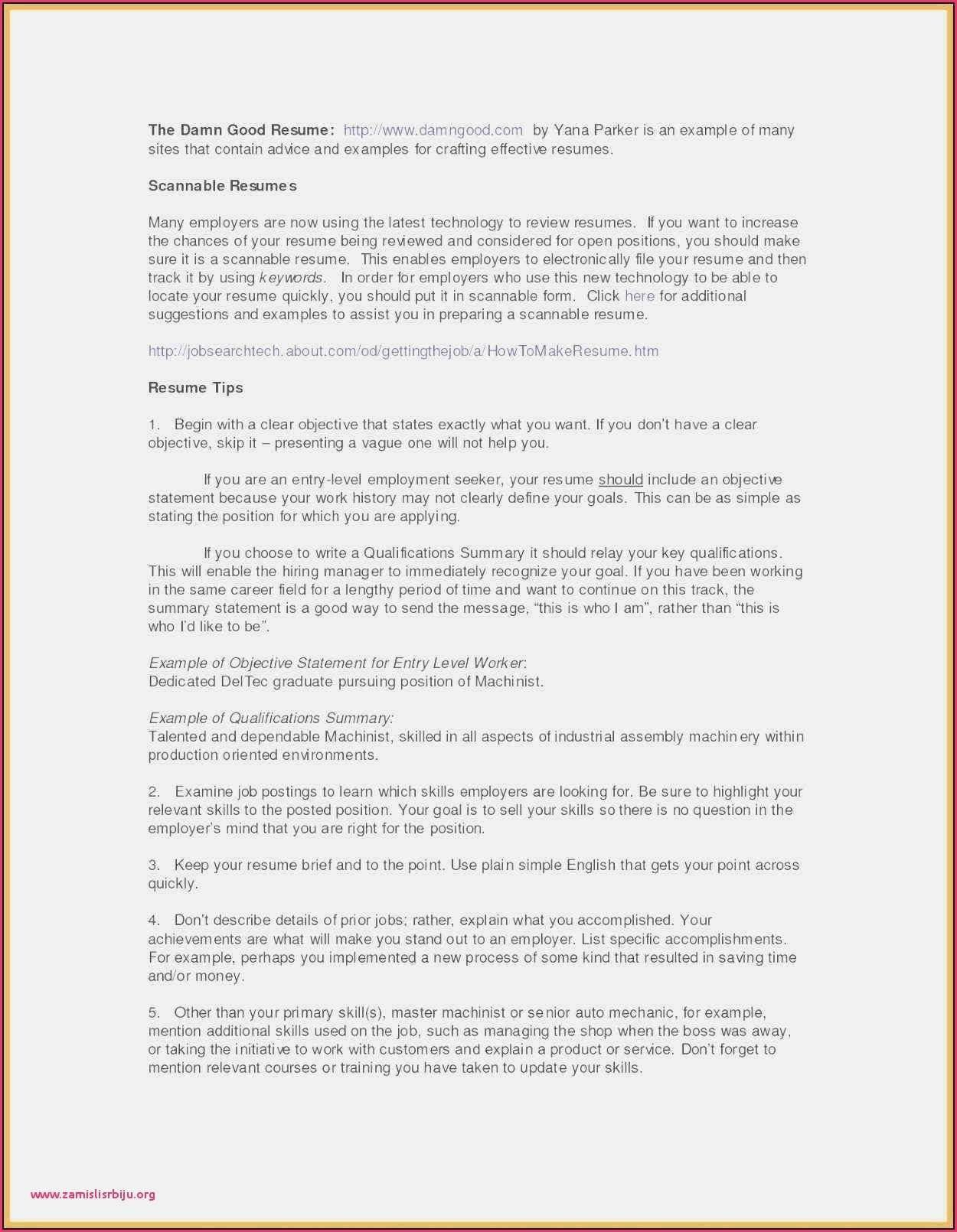 Basic Resume Examples for Part Time Jobs Best Of Part Time