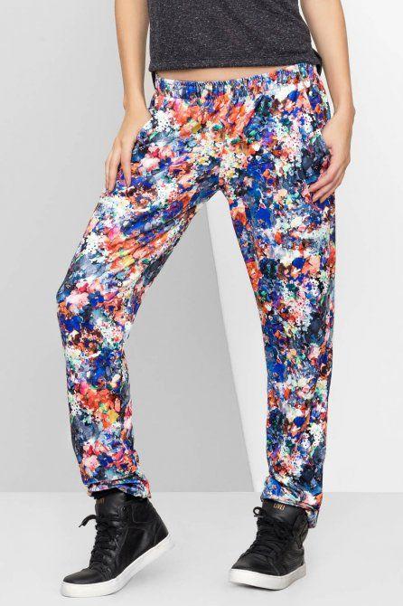 CALÇA FLOWER POWER • LIVE! • #shoponline #urbanlife #fitness #pants #floral #print