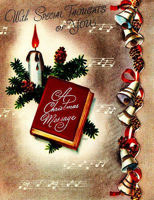 Christmas song book literary greeting cards pinterest vintage christmas greeting cards christmas song book m4hsunfo