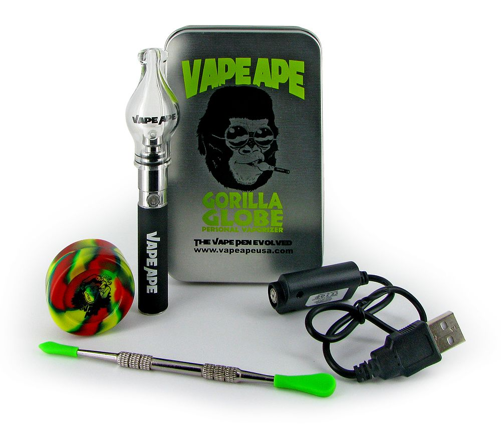 The Vape Ape Gorilla Globe Premium Kit Series Is Everything You Need