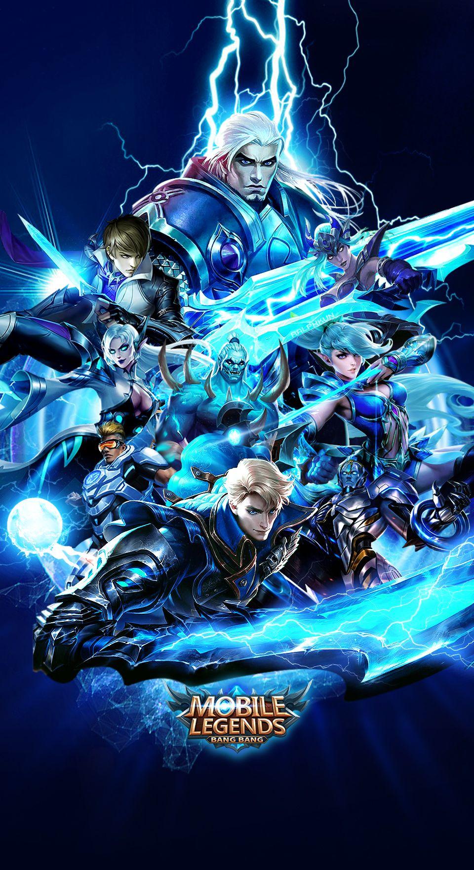 Team Blue Mobile Legends Mobile Legends Wallpaper Pinterest