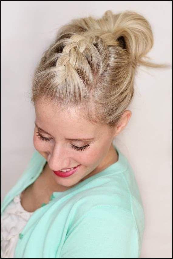 Leichte Flechtfrisuren Schulterlanges Haar Stilvolle Frisuren Für