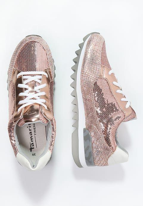 Hier treffen die Trend-Looks aufeinander. Tamaris Sneaker low - copper für 47,95 € (29.12.16) versandkostenfrei bei Zalando bestellen.