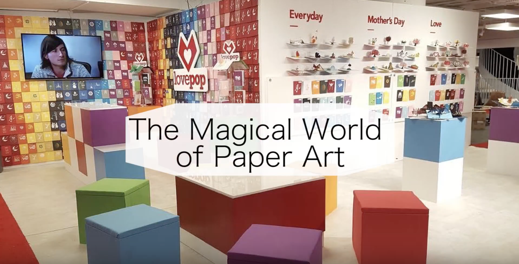 If you haven't experienced the dynamic, exquisite world that is Lovepop Cards, here's your chance! Join Stationery Trends Editor-in-Chief Sarah Schwartz on a Magical Moments Tour through Lovepop's bustling booth at AmericasMart: https://youtu.be/kg53oSSPHK8 {Sponsored}