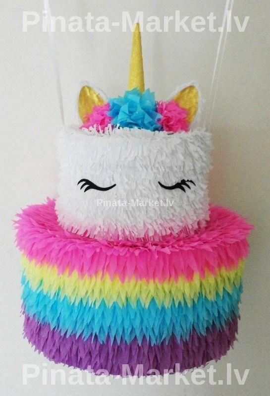 Photo of pinata unicorn cake, girl birthday pinata, buy online, party decoration #unicorn…