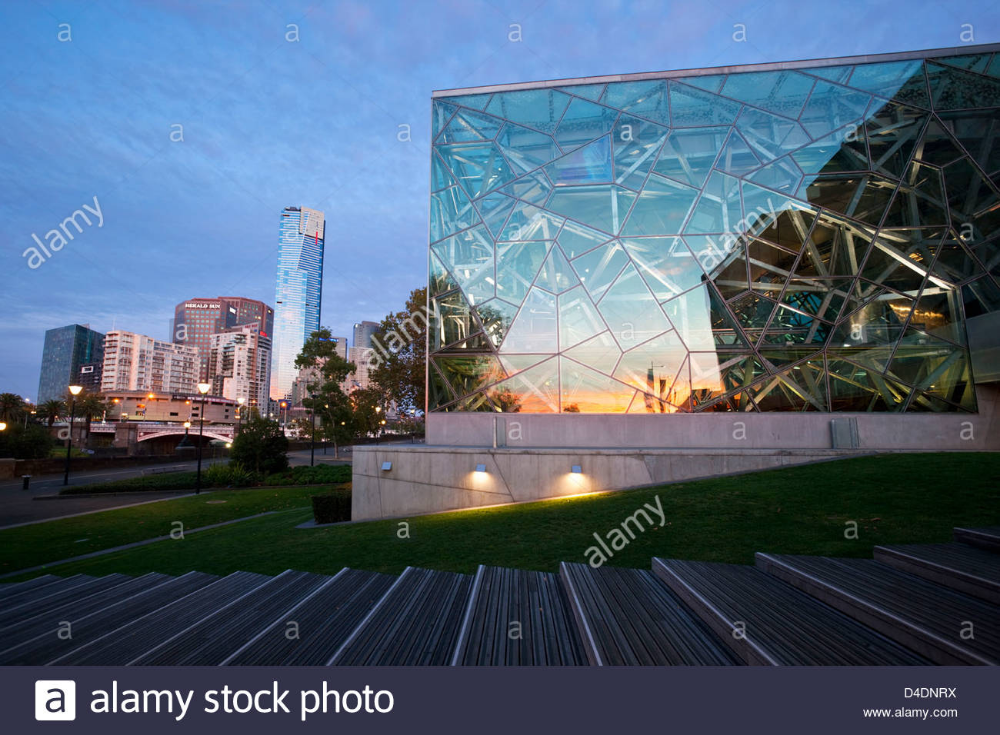Hong Kong City La Tour De Peilz Architecture Of Federation Square With The Eureka Tower And Southbank Stock Photo 54392238 Alamy Eureka Tower Photo Architecture