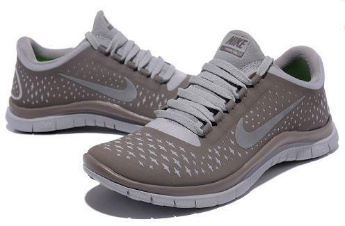Nike Free 3.0 V4 Womens Running Shoe Coffee Brown Reflective