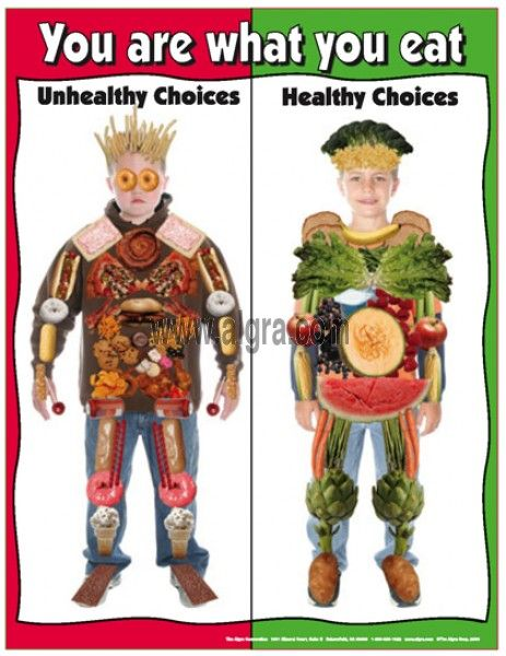 Say no to junk food poster for school quotes healthy unhealthy nutrition also rh pinterest