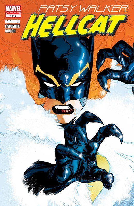 """Cool Comic Art sur Twitter : """"Patsy Walker - Hellcat by Stuart Immonen…"""