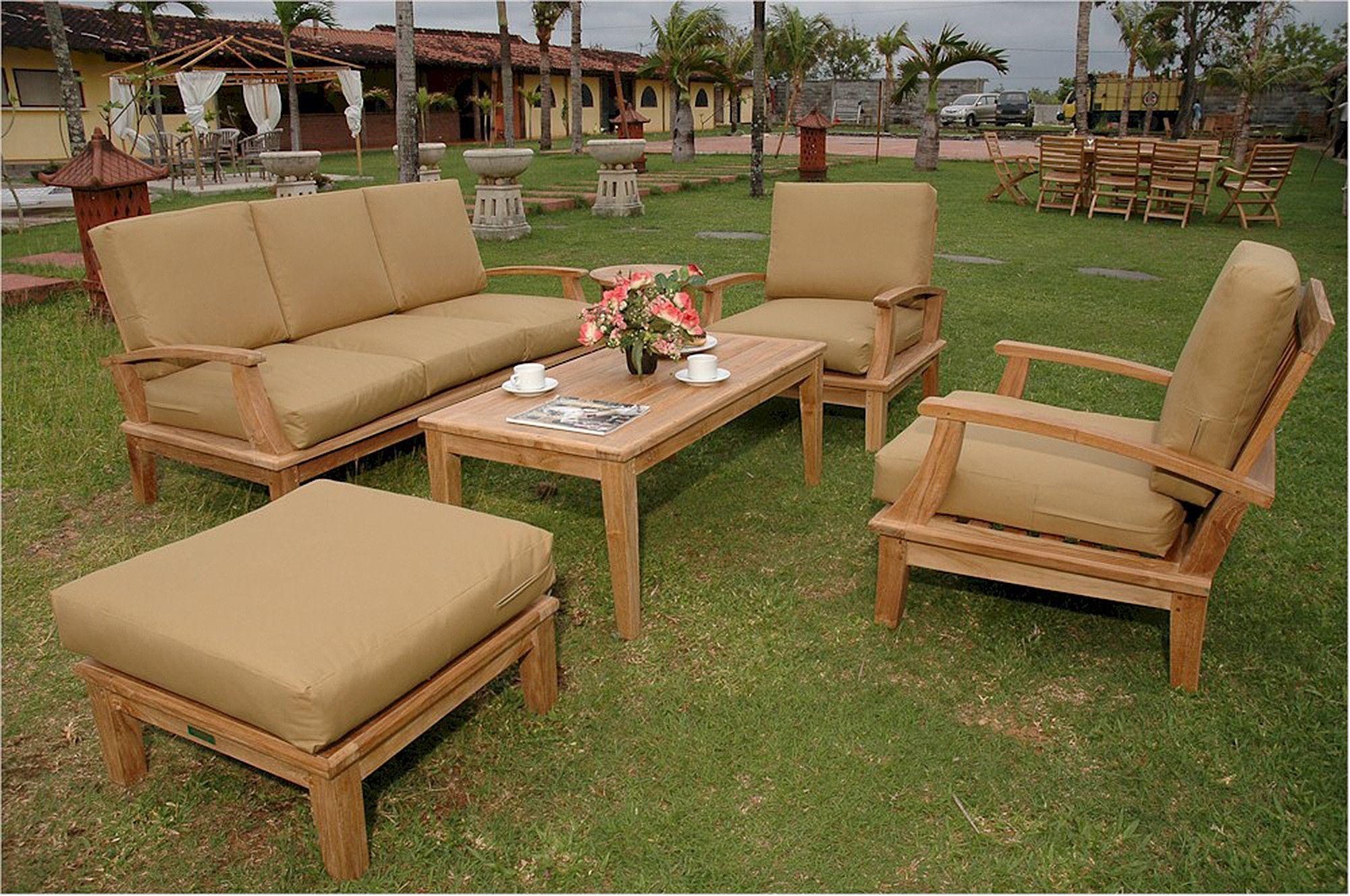 brianna deep seating sofa armchairs table u0026 ottoman set 41